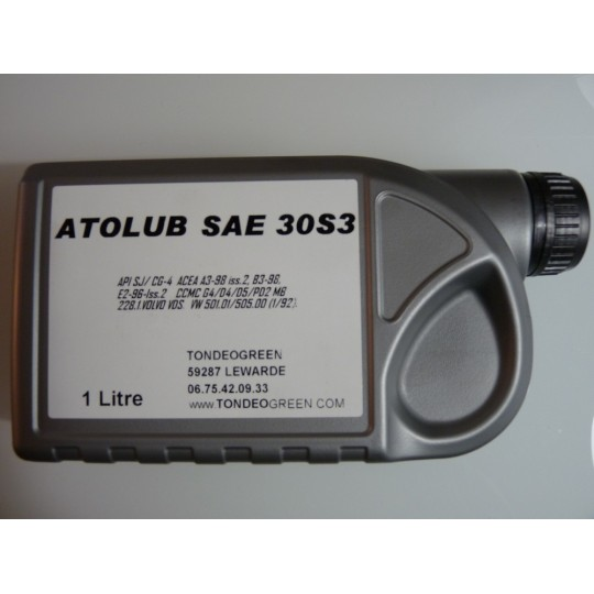 Huile SAE 30 moteur tondeuse