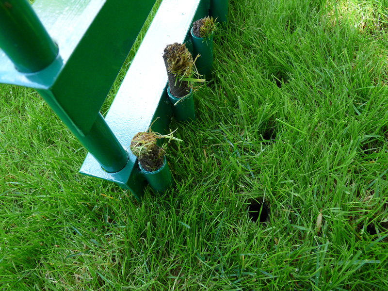 Aérateur à pelouse